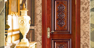 Solid Wood Carving Door Collection