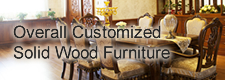 Overall Customized Solid Wood Furniture